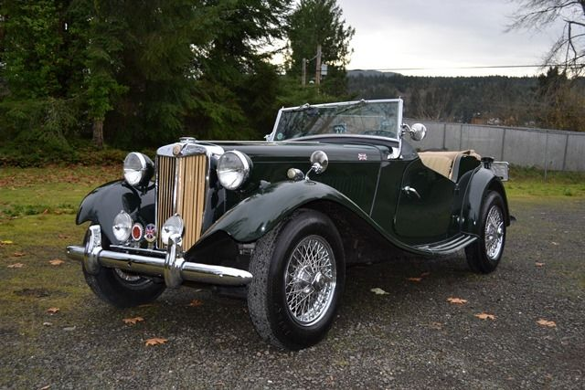1951 MG T-Series Roadster