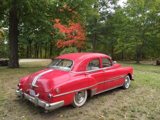 1951 Pontiac chieftain