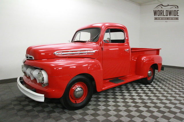 1951 Ford F1 TWO OWNER. RESTORED V8!
