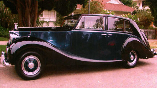 1951 Rolls-Royce SILVER WRAITH - HOOPER TOURING LIMOUSINE