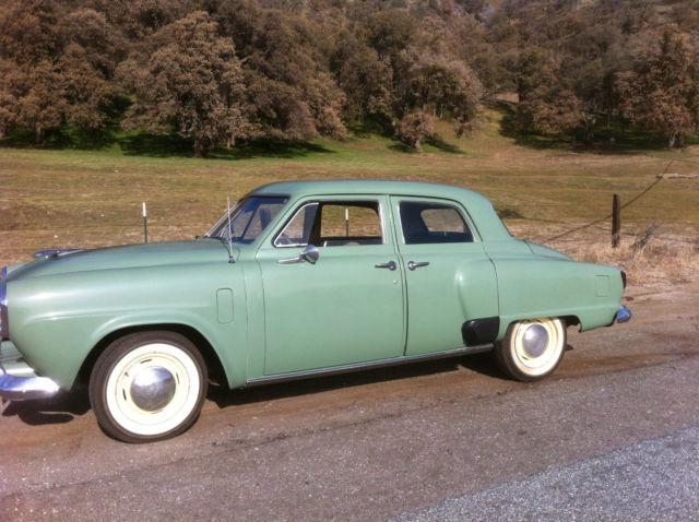 1951 studebaker champion regal deluxe 4 door 6 cylinder