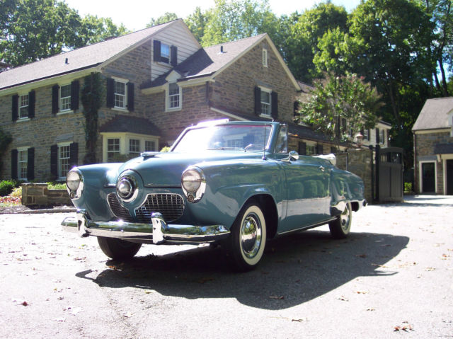 1951 Studebaker Champion Regal Deluxe Convertible for sale photos