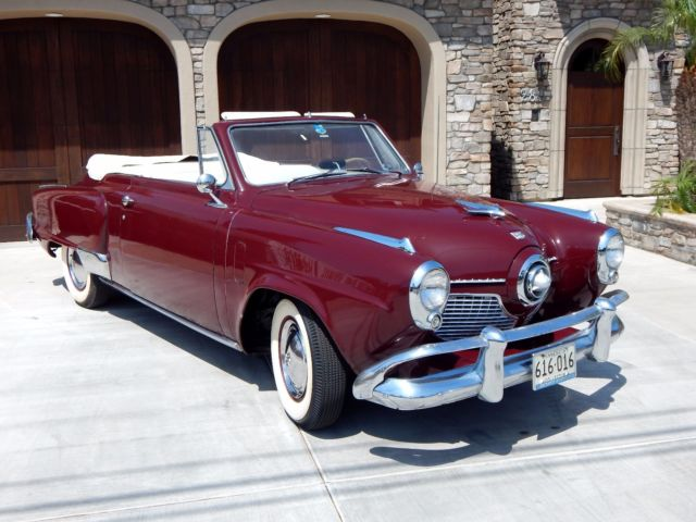 1951 Studebaker Commander Bullet Nose Convertible with V8