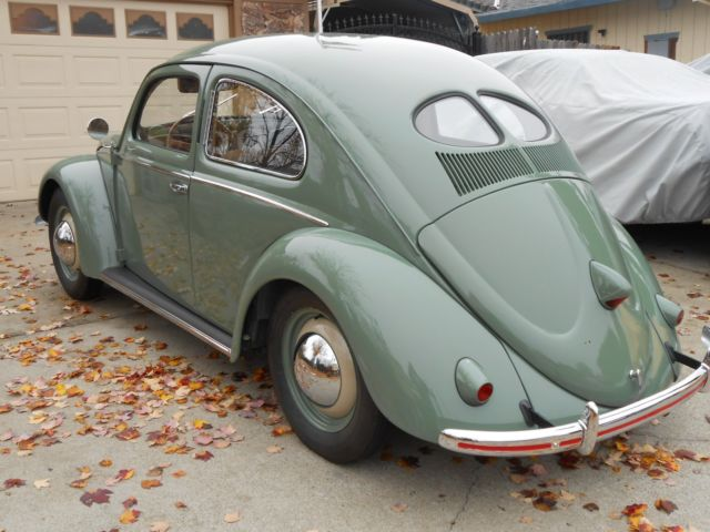 1951 volkswagen bug split window no reserve for sale