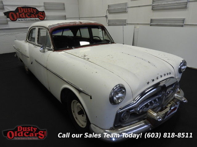 1951 Packard 300 Runs Yard Drives Body Inter Good 327 I8 4 spd auto