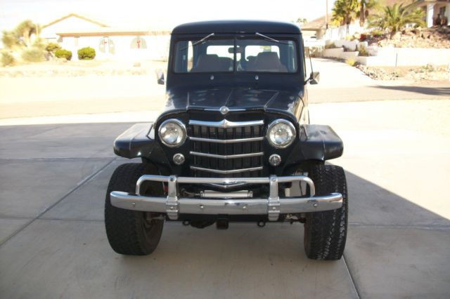 1951 Willys 2DR 4x4 Wagon with 4 seats for sale: photos