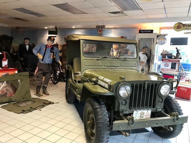 1951 Willys jeep army jeep military