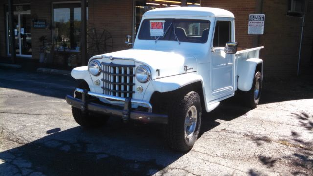 1951 Willys 451-EC1 1951 Willys Overland Jeep Truck 473