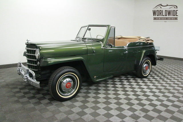 1951 Willys JEEPSTER FRAME OFF RESTORED. SHOW OR GO!