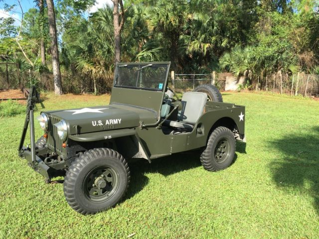 1951 Willys M 38 Jeep For Sale Photos Technical