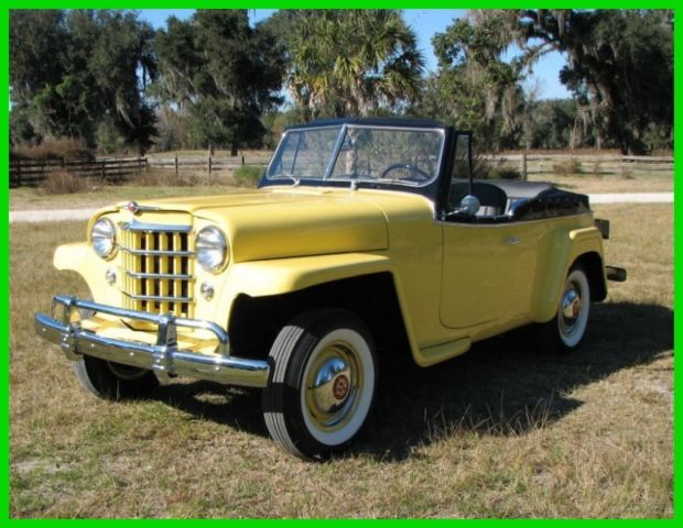 1951 Willys Jeepster complete Restoration