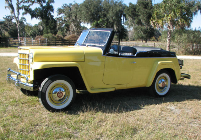 1951 Willys Jeepster Concourse Restoration