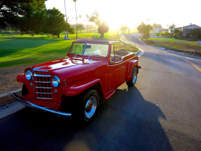 1951 Willys Jeepster  Restomod Rare