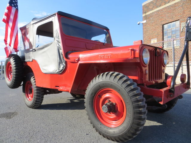 1951 Willys Cj3a CJ3A