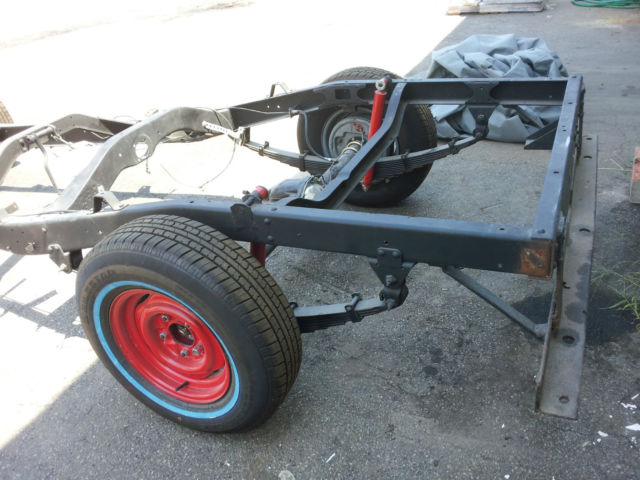 Extrêmement 1951 Willys truck rolling chassis for sale: photos, technical  MJ81
