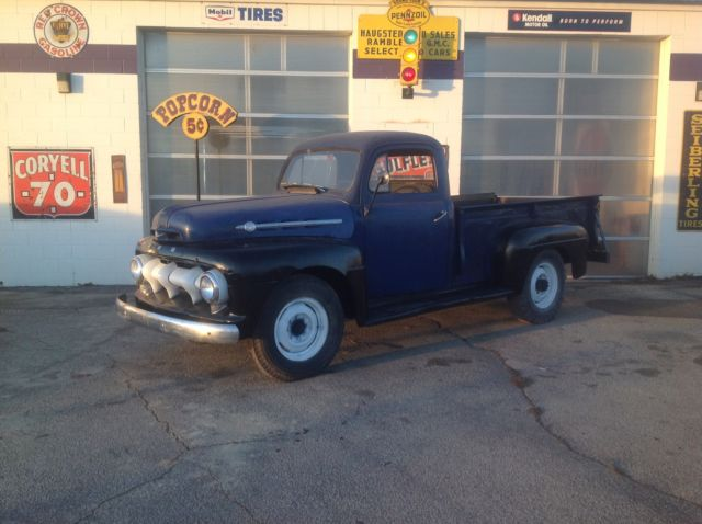 1952 Ford Other Pickups 3/4 ton F-3
