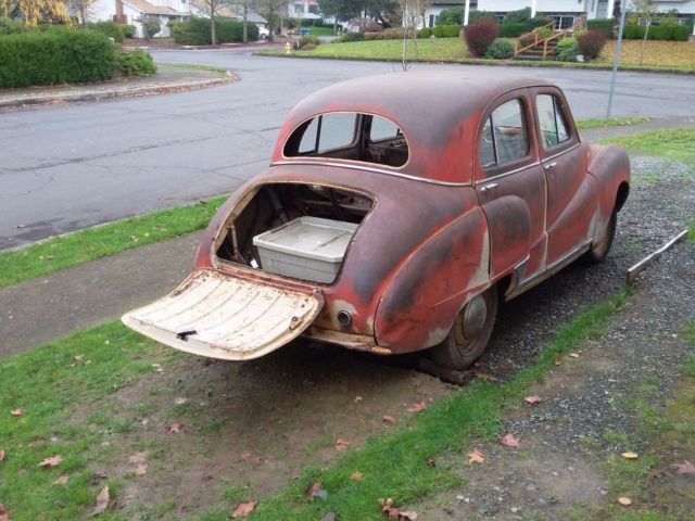 1952 Tan Austin A40 Somerset 4 door