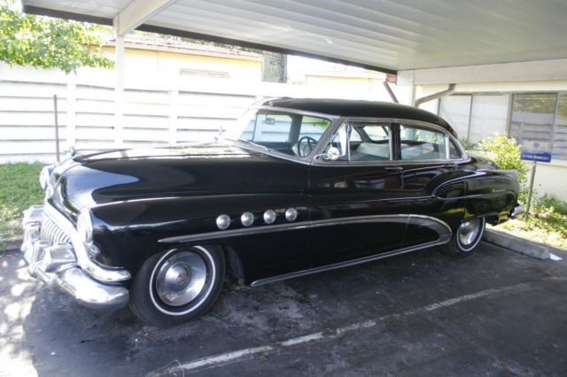 1952 Buick Roadmaster Base Sedan 4 Door 5 2l Estate Sale