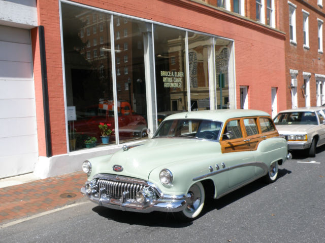 1952 Buick Other Super Estate Wagon