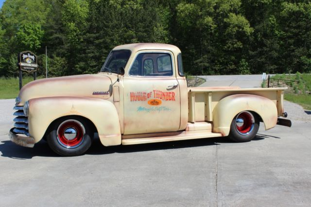 1952 chevrolet 3100 5 window rat rod bagged pickup for 1952 chevy 3100 5 window for sale