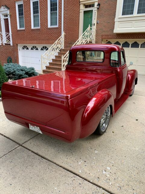 1952 Pearl Cream Chevrolet Other Pickups 3100 Pickup with Tan interior