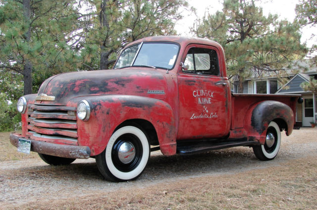 1952 Chevrolet Other Pickups Mine Truck