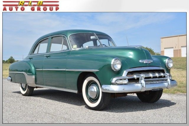 1952 chevrolet deluxe 4 door sedan 30 000 original miles