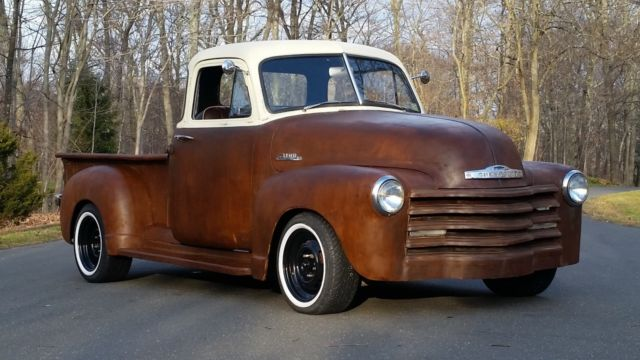 1952 chevrolet pickup 5 window 3100 custom patina for sale for 1952 chevy pickup 5 window