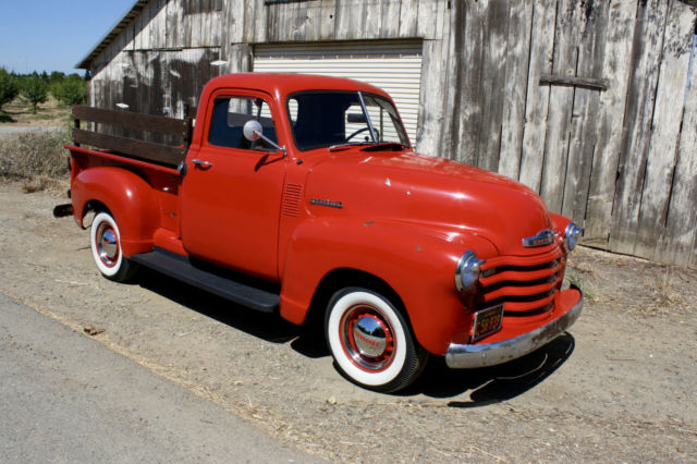 1952 Chevrolet Other Pickups 3100, Half Ton, V8, Daily Driver