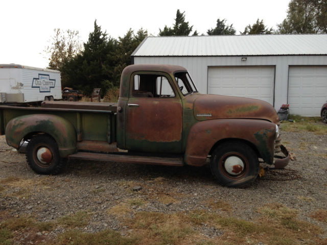 1952 Chevrolet Other Pickups 3600