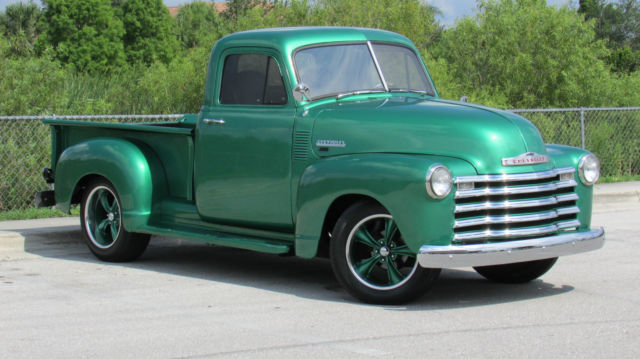 1952 Chevrolet Other Pickups RESTOMOD 3100 LONG HAUL TROPHY WINNER