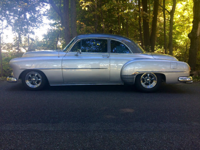 1952 chevy deluxe coupe chevy 150 210 bel air coupe resto mod street rod for sale. Black Bedroom Furniture Sets. Home Design Ideas
