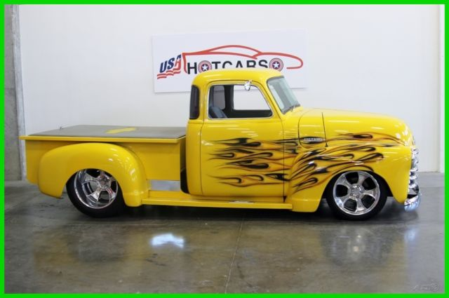 1952 Chevrolet Pickup 52 Restomod Big Block Chevy Pickup