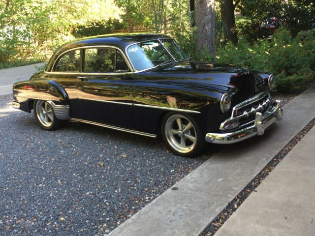 1952 chevy styleline deluxe hot rod for sale photos technical specifications description. Black Bedroom Furniture Sets. Home Design Ideas