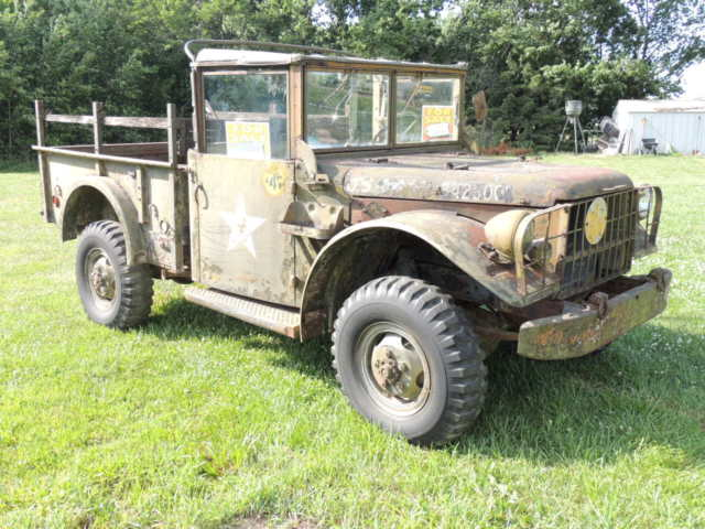 1952 Dodge M37 military truck solid project similar 2 power wagon