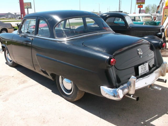 1952 ford 2 door business coupe flathead v8 overdrive for for 1952 ford customline 2 door