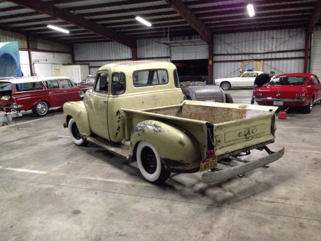 1952 GMC 3100 Pickup Truck 5 Window
