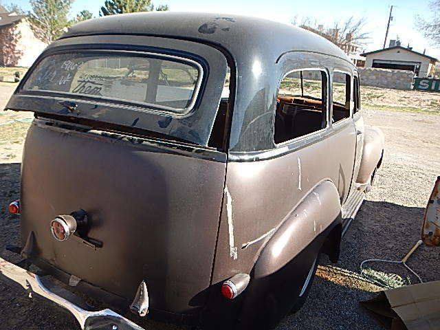 1952 GMC SUBURBAN WITH CLAM SHELL DOORS PROJECT CAR CHEVROLET 1951 1950 1953 & 1952 GMC SUBURBAN WITH CLAM SHELL DOORS PROJECT CAR CHEVROLET 1951 ...