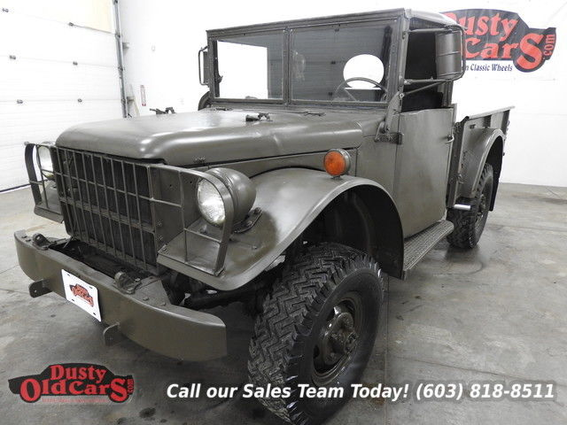 1952 Dodge M37 Runs Excel 4wd Body Inter Good 348V812V Convert