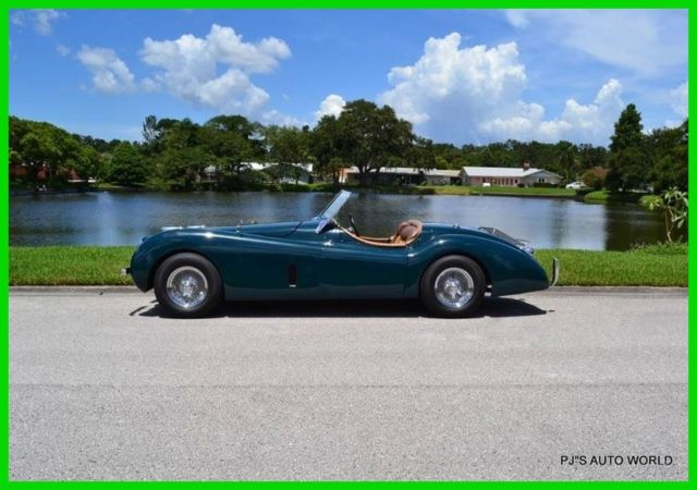 1952 Jaguar XK 1952 Jaguar XK 120 Replica 351 V8 4 speed manual transmission