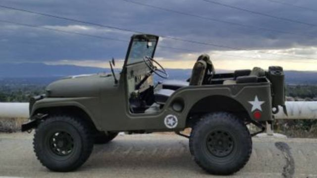 Lifted Jeep Renegade >> 1952 Jeep CJ5 Military Issued Willys M38 for sale: photos ...