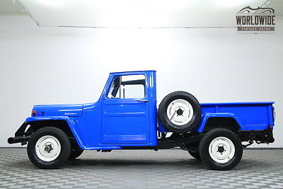 1952 Willys Willys 4x4 Pickup Jeep Willys
