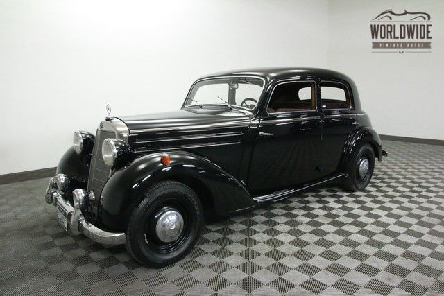 1952 Mercedes-Benz 170S FRAME OFF RESTORED. COLLECTOR GRADE!