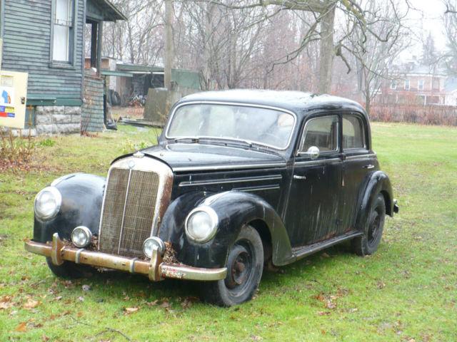 1952 mercedes 200 classic 1950 1951 1953 1954 1955 1956 for Mercedes benz suicide doors