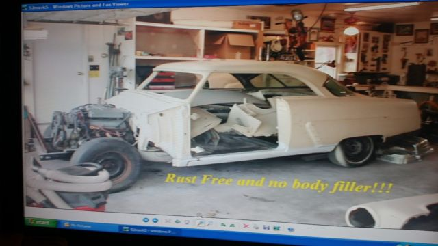 1952 Mercury Monterey 2dr Hardtop White Diamond Pearl 3 Stage Paint