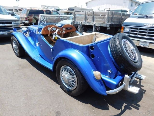 1952 Mg Kit Car 1969 Volkswagen Chassis And Engine For Sale