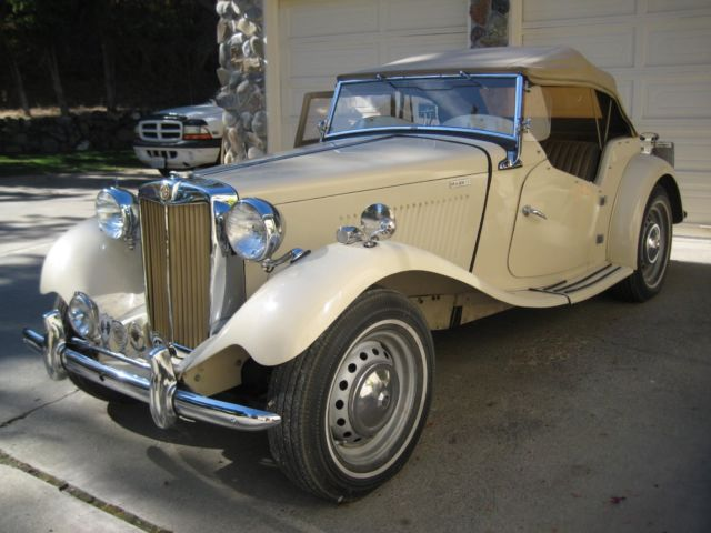 1952 MG T-Series Competition Options