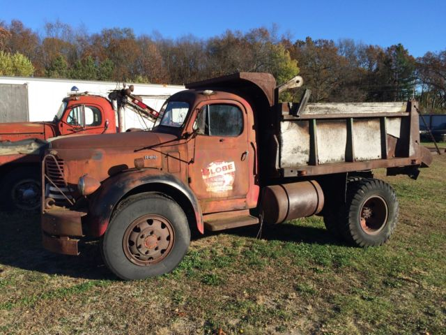 1952 Other Makes F-20 Gold Comet Dump Truck REO F-20 Gold Comet
