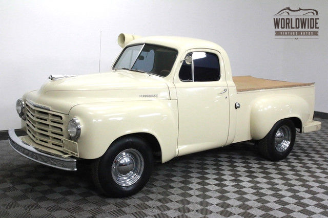 1952 Studebaker 2R5 TRUCK RARE TRUCK WITH V8 AND AUTOMATIC!