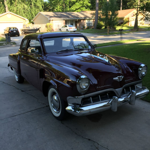 1952 Studebaker Champion 2 Door,3 speed with overdrive